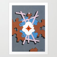 Patterned Ornament #1 Art Print