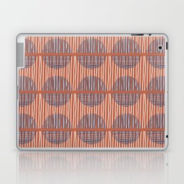 Circles and Stripes Laptop & iPad Skin