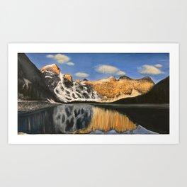 Mountain Majesty Reflection Art Print
