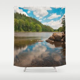 Hudson River Shower Curtain