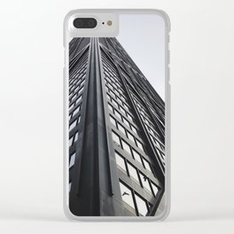 force of nature Clear iPhone Case