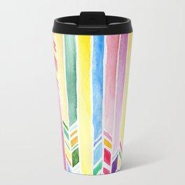 watercolor abstraction Travel Mug