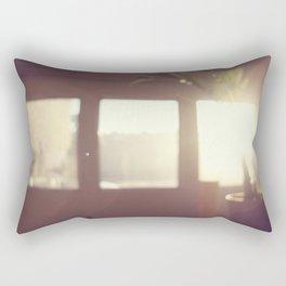 view from my window . ii Rectangular Pillow