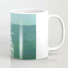 Open Your Curtains Coffee Mug