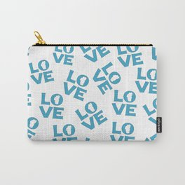 Love Tahoe in Blue Carry-All Pouch