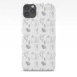 Dwellings of Goliad iPhone Case