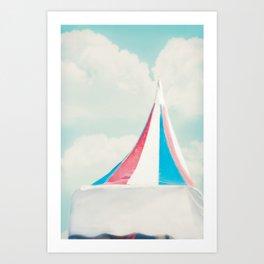 Carnival Tent Art Print