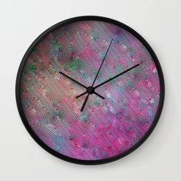 Vortex Footprints Wall Clock