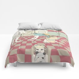 You can breathe! Comforters