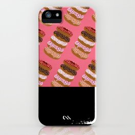 Stacked Donuts on Cherry iPhone Case