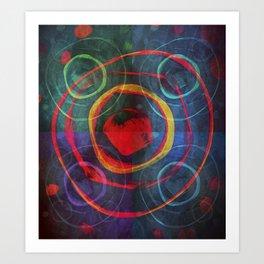 Quadrants Art Print