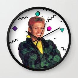 Bill S Preston Esquire Wall Clock