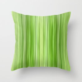 Green 3 Throw Pillow