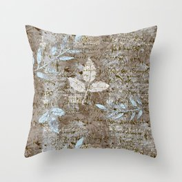 Paris in Springtime Throw Pillow