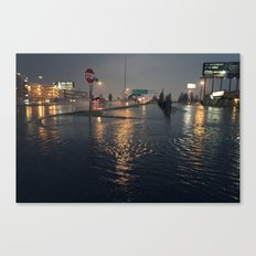 Flooding Canvas Print