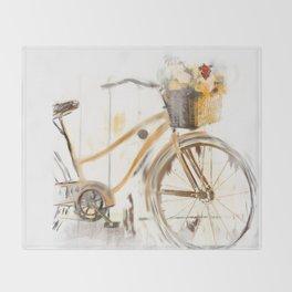 Bicycle Throw Blanket