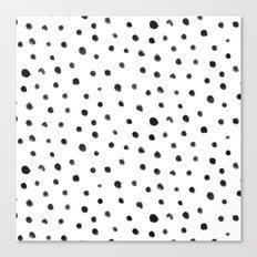 Fingerdots Canvas Print
