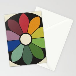 James Ward's Chromatic Circle Stationery Cards