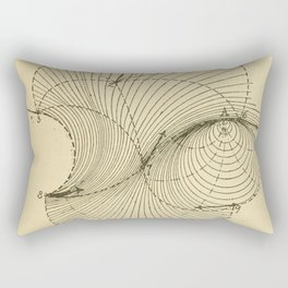 Fluid Dynamics Rectangular Pillow