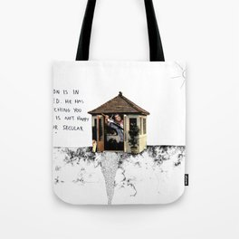 Mel Gibson is in your shed Tote Bag