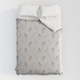Humpback whale pattern Comforters