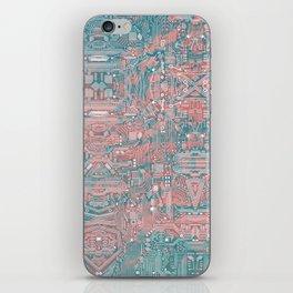 Circuitry Details 2 iPhone Skin