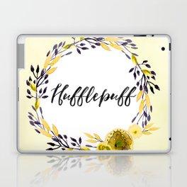 HP Hufflepuff in Watercolor Laptop & iPad Skin