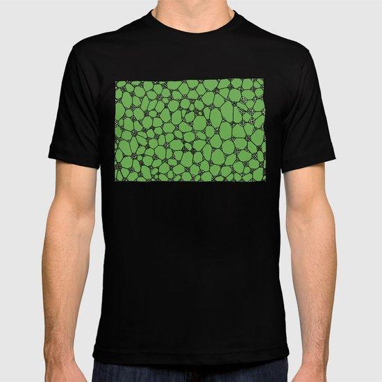 Yzor pattern 006-4 kitai green T-shirt
