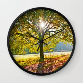 Suncatcher Wall Clock