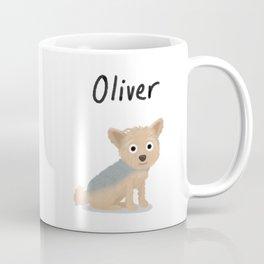 "Custom Dog Art ""Oliver"" Coffee Mug"