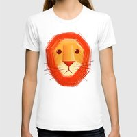 sad T-shirts featuring Sad lion by Lime