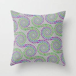 Octoflow Throw Pillow