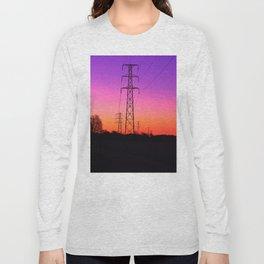 Power lines 18 Long Sleeve T-shirt