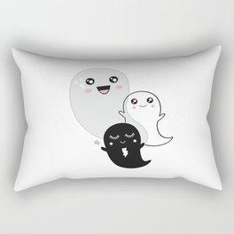 Ghost Kawaii Halloween cute gift kids children kidsroom Rectangular Pillow