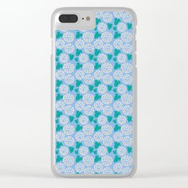 Japanese Floral Pattern 05 Clear iPhone Case