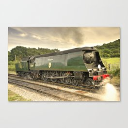 Manston at Norden Canvas Print