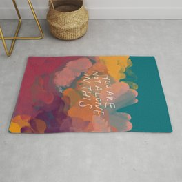 You Are Not Alone In This Rug