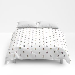 People icon pattern Comforters