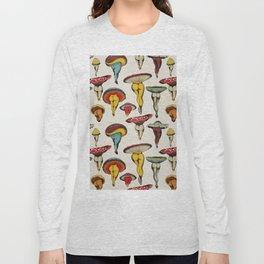 Mushrooms pattern Long Sleeve T-shirt