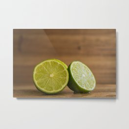 Limes in cross section Metal Print