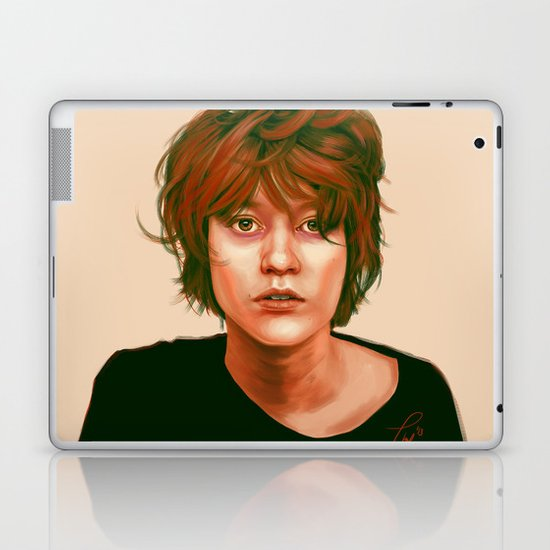 Take a look in the mirror Laptop & iPad Skin
