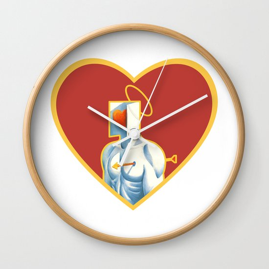 The Heart of Love Wall Clock