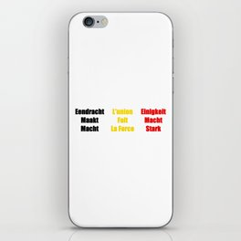 Unity Makes Strength iPhone Skin