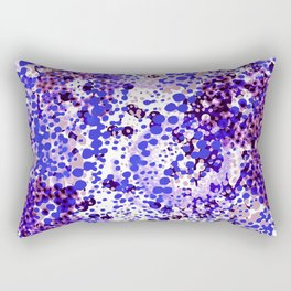 sparkling dots in ultramarine Rectangular Pillow