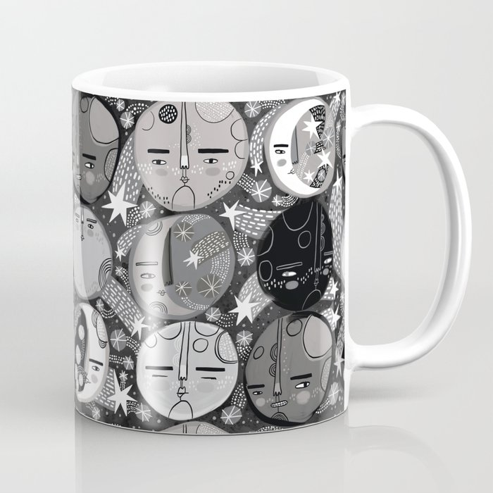 Moon Faces Coffee Mug