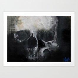 BONEFACE Art Print