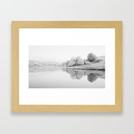 River Usk, Newport Framed Art Print
