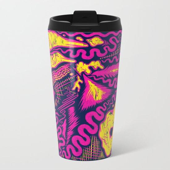 Pink Nights Metal Travel Mug