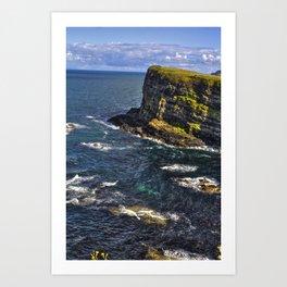 The Anterim Coast Art Print