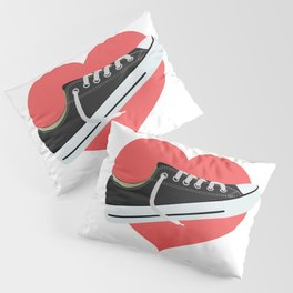 I love to wear trainers Pillow Sham